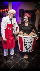 KFC Bucket costume Halloween costume/Won best Halloween costume