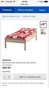 Kid ikea sniglar bed 60 $nego