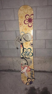Girl snowboard for sale!