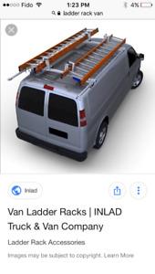 Van ladder rack