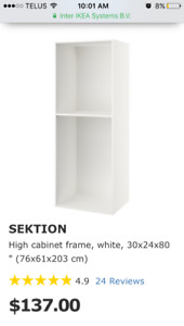 IKEA kitchen cabinet for built in appliance