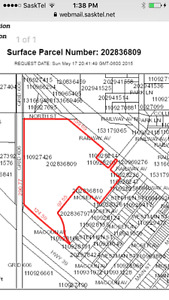 20 acre property in Midale