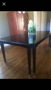 Dining table espresso Ashley furnature