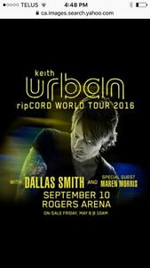 Keith Urban tickets for Vancouver