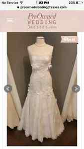 New with tags Size 12 justin Alexander wedding dress