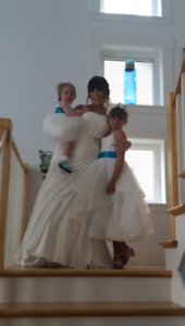 Flower girl dresses- size 18 month and size 8