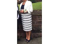Mother of the bride/groom dress and jacket