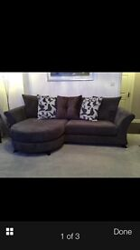 Dfs Escape Chaise 4 Seater Sofa In Charcoal