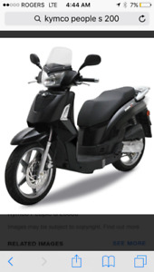 Kymco people s 200 scooter