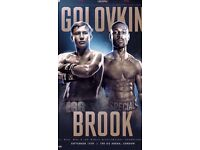 Boxing kell brook VS GGG man