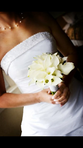GORGEOUS Strapless Wedding Dress for Sale!!