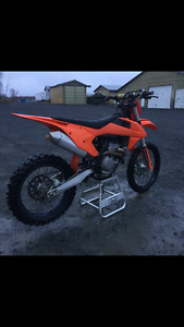 2016 KTM 350 SXF WITH LOTS OF EXTRAS