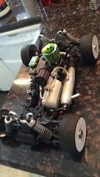 Ofna Hyper 7 1/8 nitro buggy w/tons of aftermarket parts