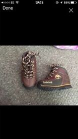 Timberland boots (real leather)