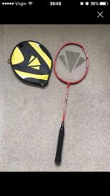 Badminton Raquet and cover