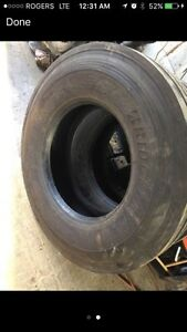 Bridgestone r268 steer tires