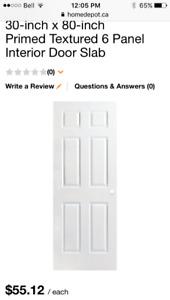 Free 80*30 interior door