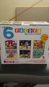 Pocoyo puzzles 216 pieces