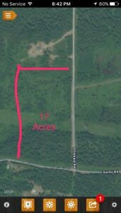 17acres of vacant land in Ware Township
