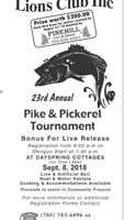EMSDALE LIONS FISHING TOURNAMENT