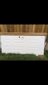 Solid exterior door for sale, must sell.