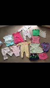 Bag of 6-12 month girl clothes - LIKE NEW