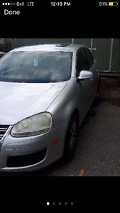 06-10 VW Jetta LH fender silver Windsor Region Ontario image 1