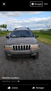 1999 Jeep Grand Cherokee VUS laredo full equipe