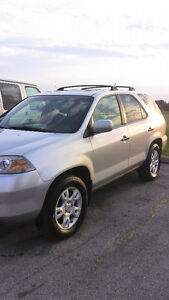 2006 Acura MDX SUV Silver & Black Leather  (Clea and Reliable) London Ontario image 1
