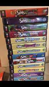 Sims 2 Game and Expansion Packs