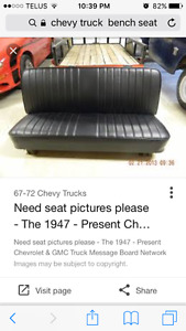 WANTED bench seat