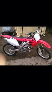 2006 CRF 450 Trade for a sled