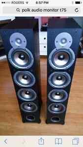 Polk t75i tower speakers