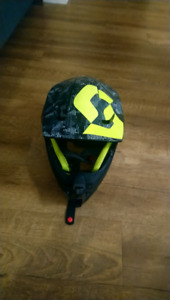 casque motocross scott