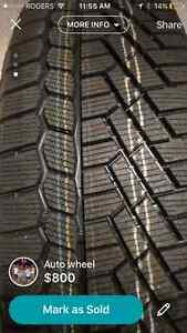 NEW continental extreme winter contact tires Cambridge Kitchener Area image 3