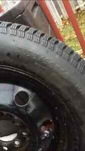 4 Bolt Universal Snow Tires 195/60R14 London Ontario image 5