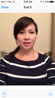 Excellent massage from ying $60 hr ( 1 st visit )