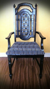 ANTIQUE FRENCH PROVINCIAL ACCENT ARM CHAIR