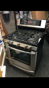 Gas/propane stove, dressers, gym equipment, bricks , etc