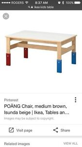 Kid's IKEA table