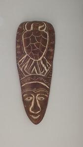 Plaque murale Grand Masque de Pharaon en plâtre (Statue)