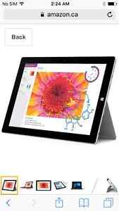Window 3 surface tablet with extra adds