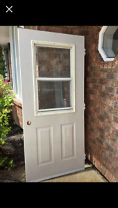 Looking for a 36 by 80 exterior door with screen like the pic!