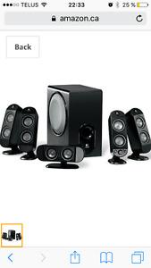 Ensemble de speakers Logitech X-530