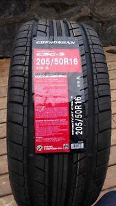 205/50/16 brand new, $310 a set, all season tires