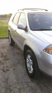 2006 Acura MDX SUV Silver & Black Leather  (Clea and Reliable) London Ontario image 2