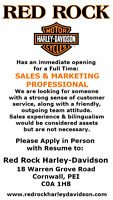 Full Time Sales and Marketing Position