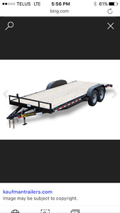 I want to rent a flatbed trailer