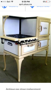 Wanted Antique stepside gas kitchen stove
