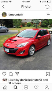 2010 mazdaspeed 3 part out